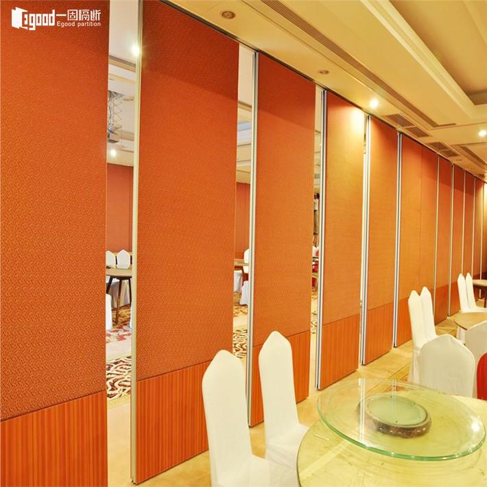 酒店活动隔断墙用在宴会厅,我们需要的特色就餐空间就能如愿以偿·广东一固隔断制品有限公司