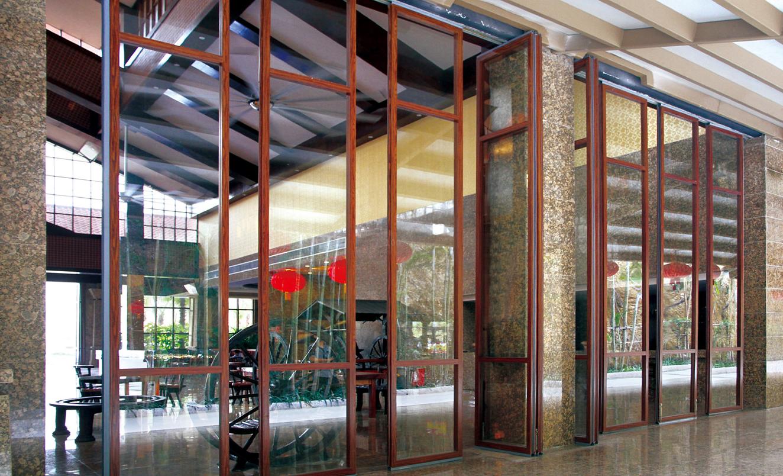 惠州云顶度假酒店玻璃隔断安装项目