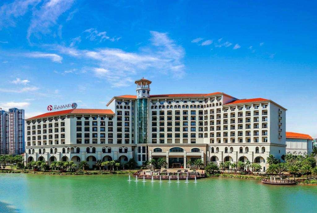 惠州华美达酒店会议厅活动隔断安装项目