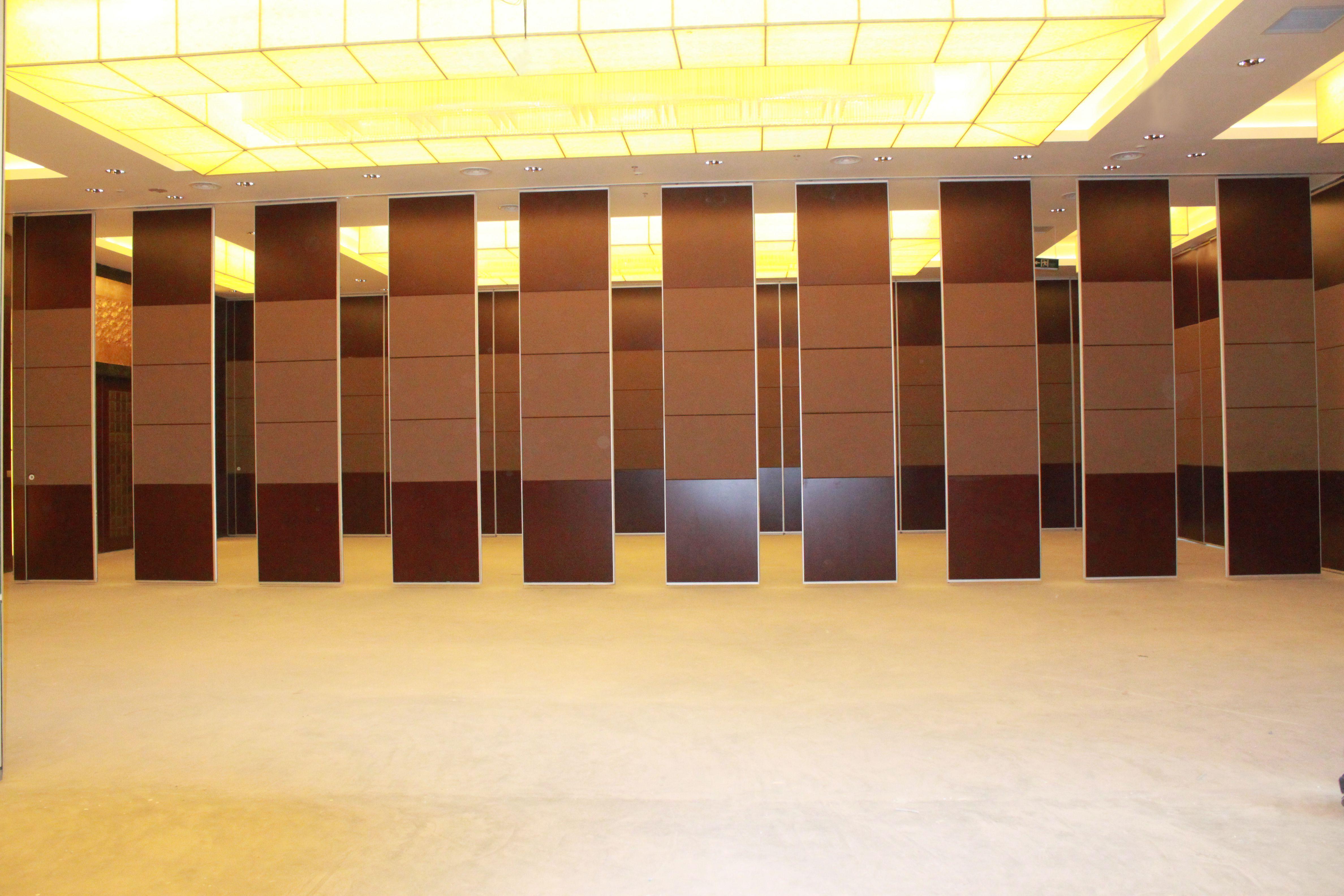 山东莱阳金山国际酒店会议厅活动隔断安装项目