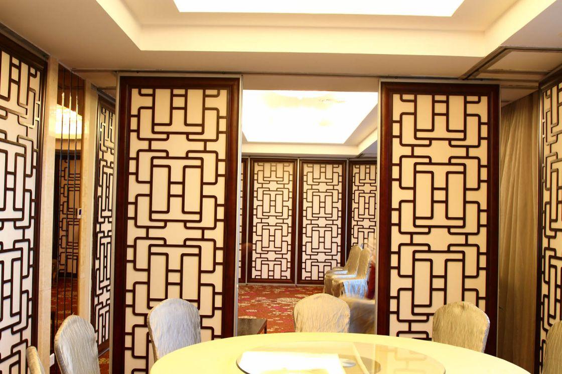 广州华师粤海酒店活动隔断安装项目