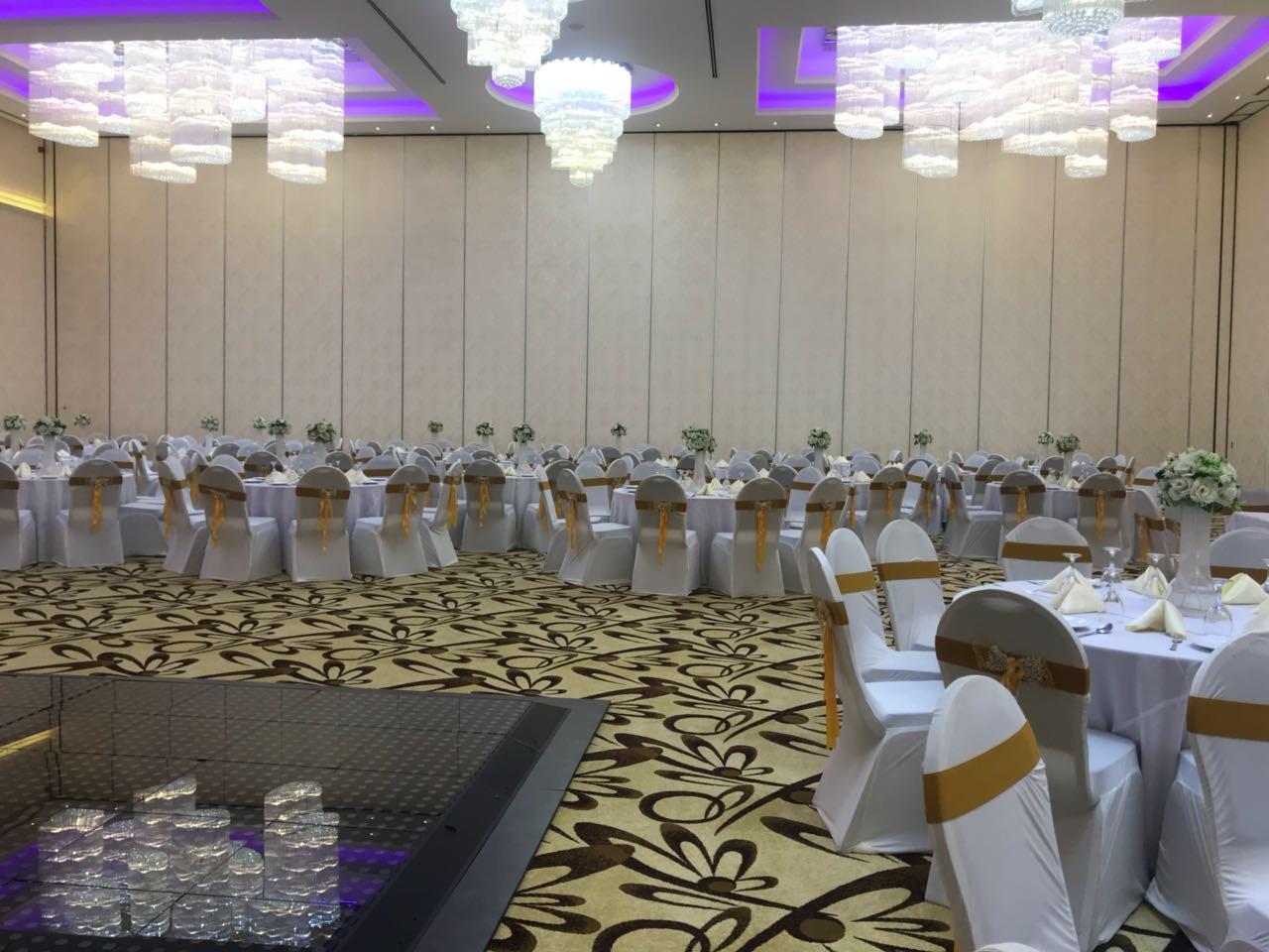 斯里兰卡度假酒店活动隔断安装项目